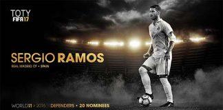 FIFA 17 TOTY Shortlist - Best Defenders in the World