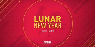 Lunar New Year Event in FIFA 17 Ultimate Team