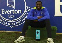 Interview to the March Premier League's POTM Romelu Lukaku