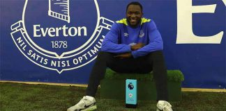 Interview to the March Premier League's POTM Romelu Lukaku