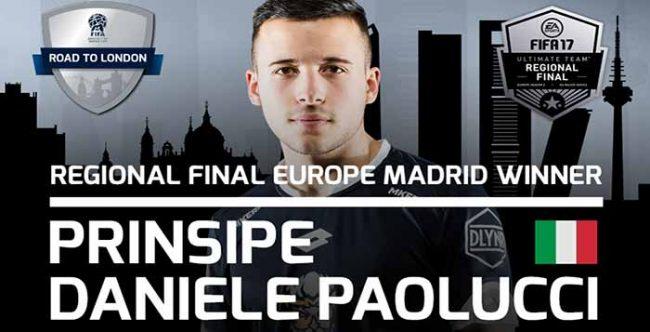 Who won the Europe Final of Championship Series Season 2