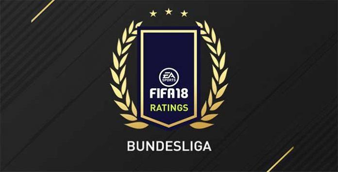 FIFA 18 Bundesliga Best Players - Top 30 of German League