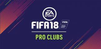 FIFA 18 Pro Clubs Explained