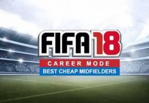 Best Cheap Midfielders for FIFA 18 Career Mode