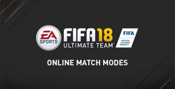 FIFA 18 Ultimate Team Online Player Modes