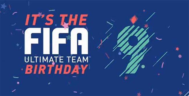 FUT Birthday Program for FIFA 18 Ultimate Team