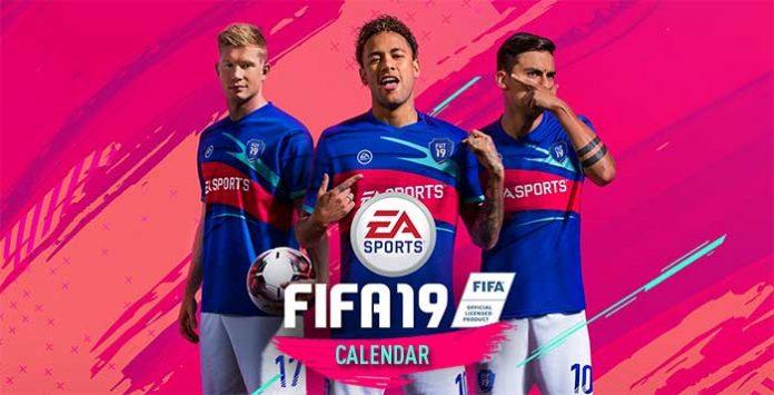 FIFA 19 Calendar Dates