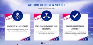 New Kick-Off Mode in FIFA 19