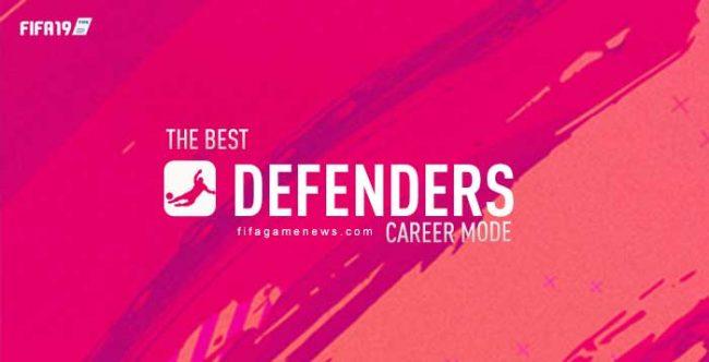 Best Defenders for FIFA 19 Career Mode