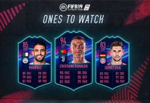 FIFA 19 Ones to Watch Items are Out!
