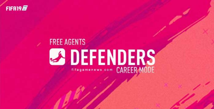 Free Agents Defenders for FIFA 19 Career Mode