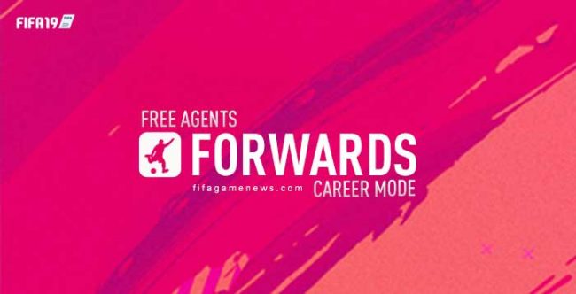 Free Agents Strikers for FIFA 19 Career Mode