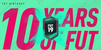 FUT 19 BIRTHDAY