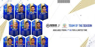 FUT 19 Saudi Professional League TOTS