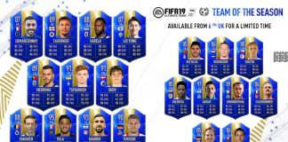 FUT 19 Rest of the World TOTS
