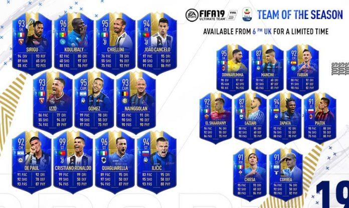 FIFA 19 Serie A TOTS