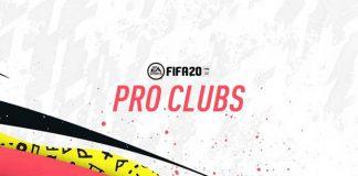 FIFA 20 Pro Clubs