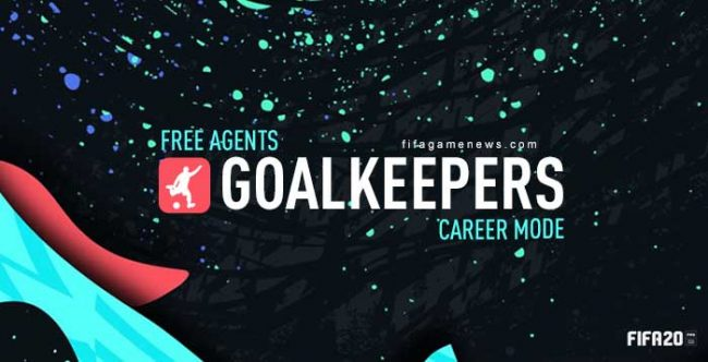 Free Goalkeepers for FIFA 20 Career Mode