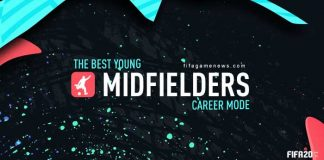 Best Young Midfielders for FIFA 20 Career Mode