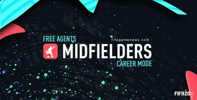 Best Free Midfielders for FIFA 20 Career Mode