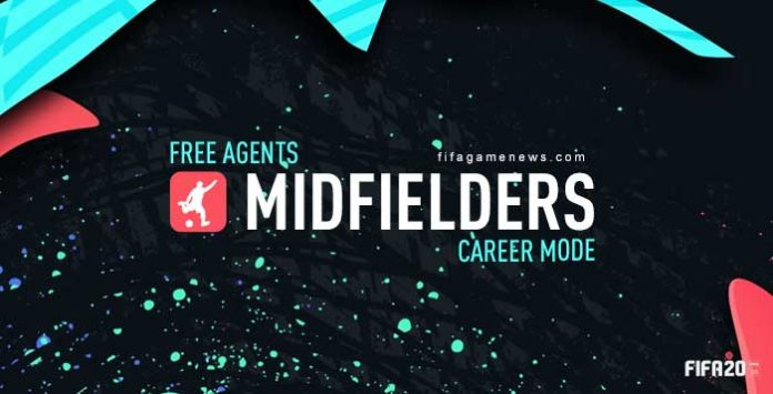 Best Free Midfielders for FIFA 20 Career Mode