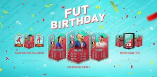FUT Birthday Promo for FIFA 20 Ultimate Team