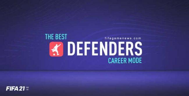 Best FIFA 21 Defenders for Career Mode