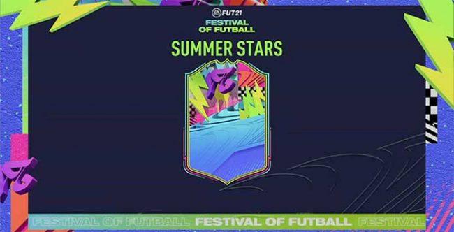 FUT 21 Summer Stars Special Squads