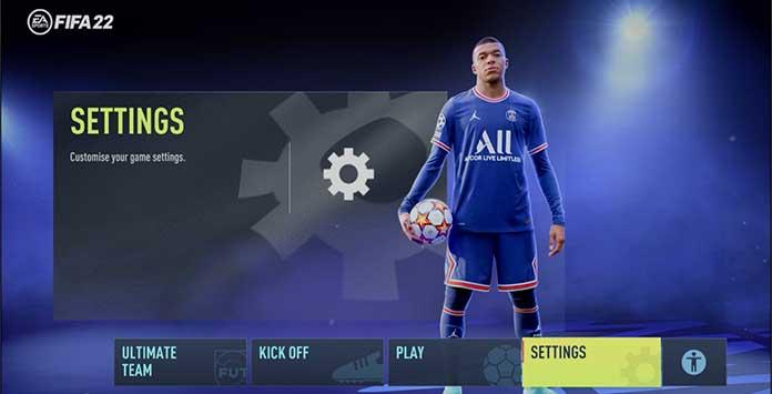 FIFA 22 Settings