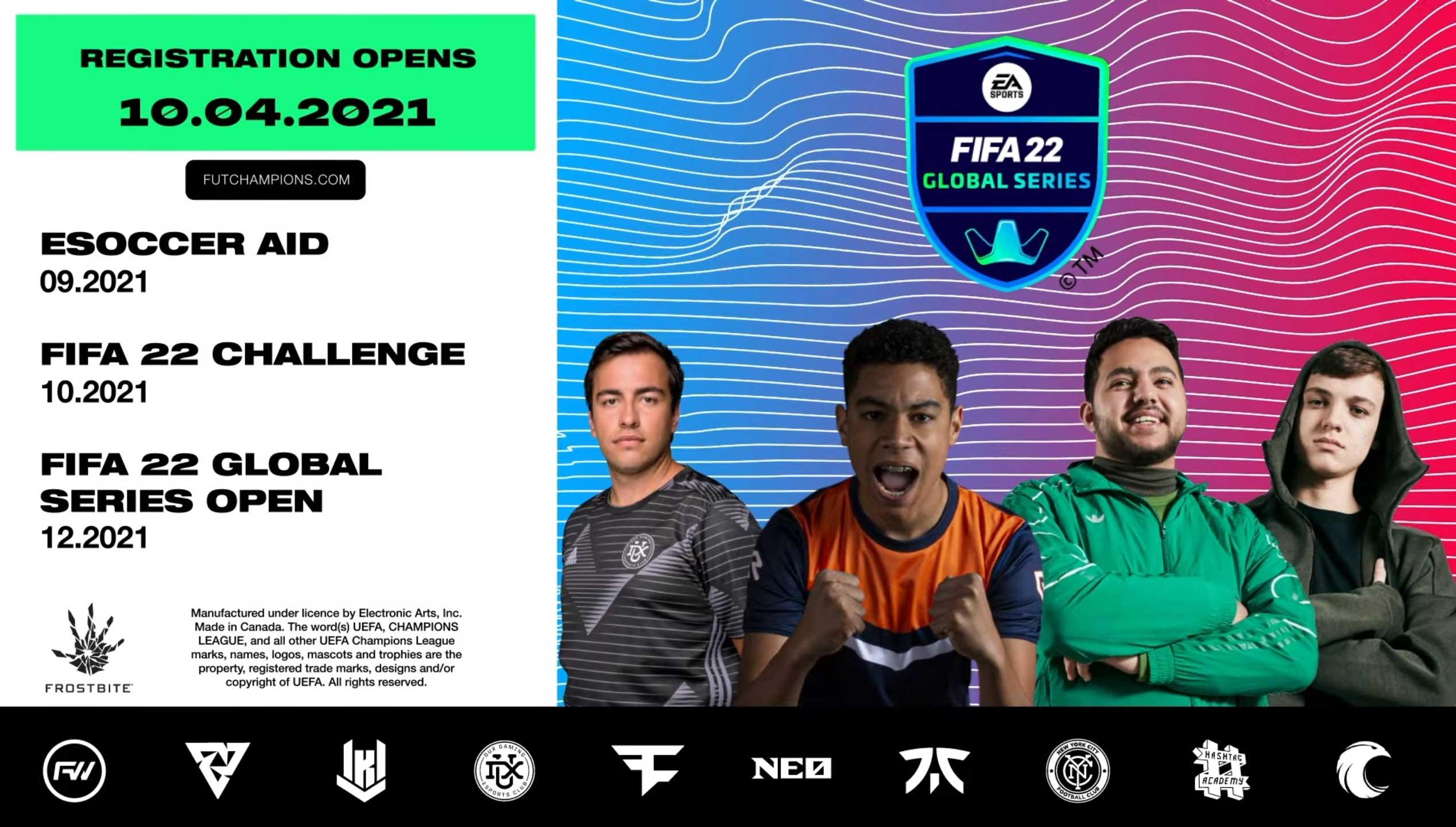 EA SPORTS FIFA 22 Global Series